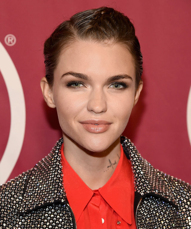 Actress Ruby Rose attends the ONE Campaign and (RED)'s 'It Always Seems Impossible Until It Is Done' 10th anniversary celebration at Carnegie Hall on December 1, 2015 in New York City.