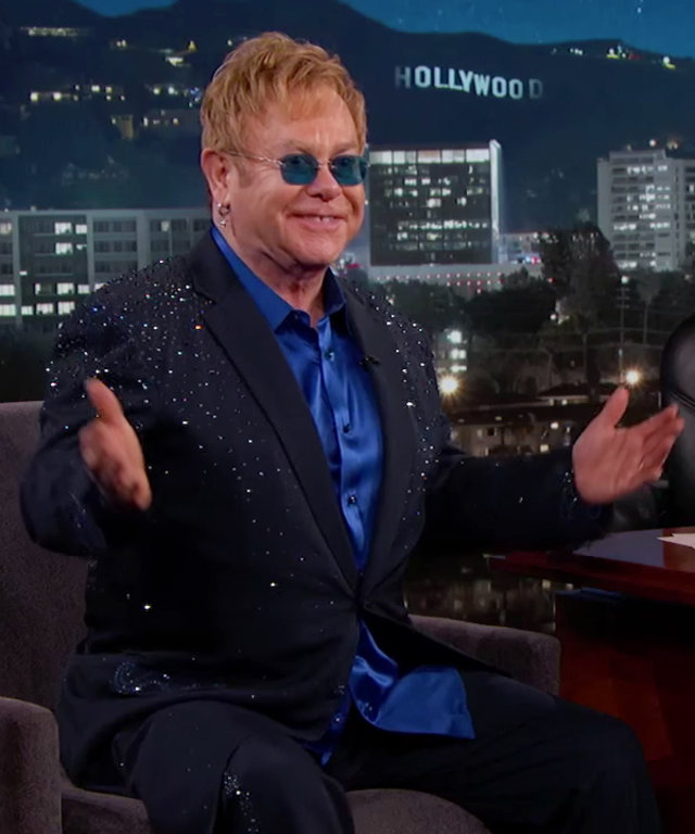 Sir Elton John - Jimmy Kimmel
