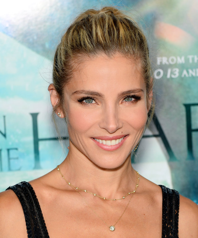 Elsa Pataky attends 'In The Heart Of The Sea' New York premiere at Frederick P. Rose Hall, Jazz at Lincoln Center on December 7, 2015 in New York City.