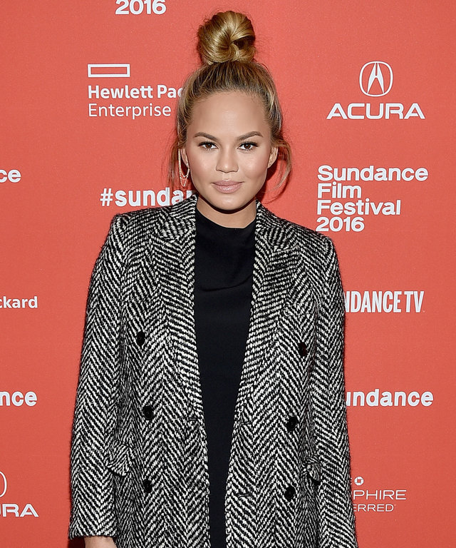 Model Chrissy Teigen attends 'Southside With You' Premiere during the 2016 Sundance Film Festival at Eccles Center Theatre on January 24, 2016 in Park City, Utah.