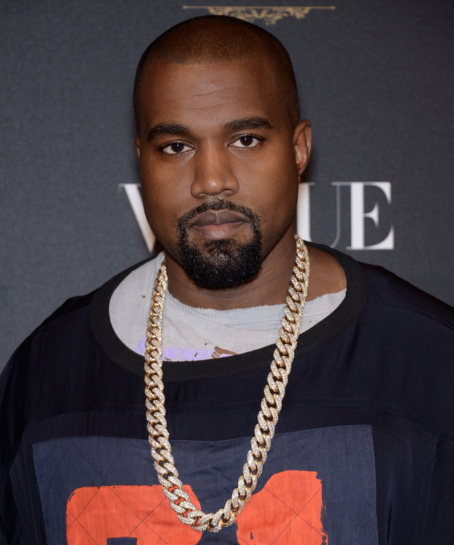 Kayne West attends the Vogue 95th Anniversary Party : Photocall as part of the Paris Fashion Week Womenswear Spring/Summer 2016 on October 3, 2015 in Paris, France.