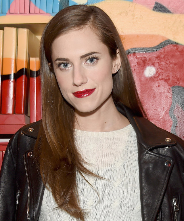 Actress Allison Williams attends the VANDAL Grand Opening in New York City on January 15, 2016 in New York City.