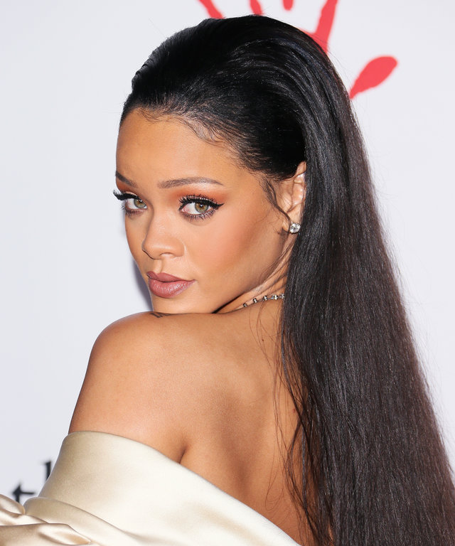 Recording artist Rihanna attends the 2nd Annual Diamond Ball hosted by Rihanna and The Clara Lionel Foundation at The Barker Hanger on December 10, 2015 in Santa Monica, California.