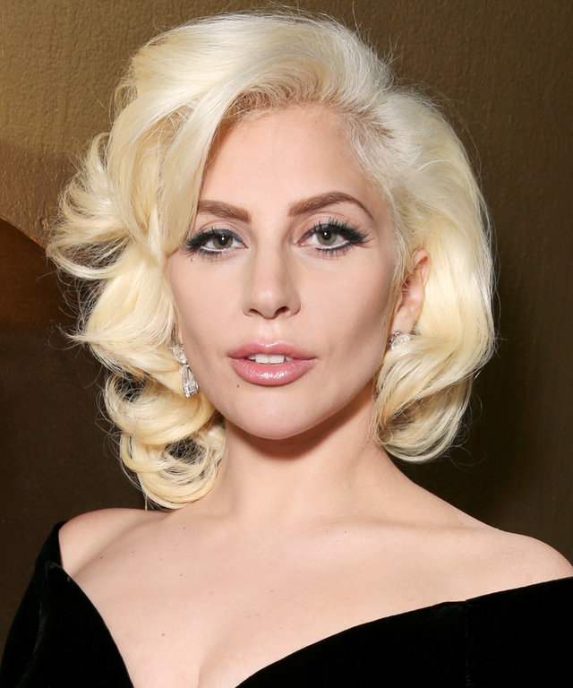 Lady Gaga attends FOX Golden Globe Awards Party 2016 sponsored by American Airlines at The Beverly Hilton Hotel on January 10, 2016 in Beverly Hills, California.