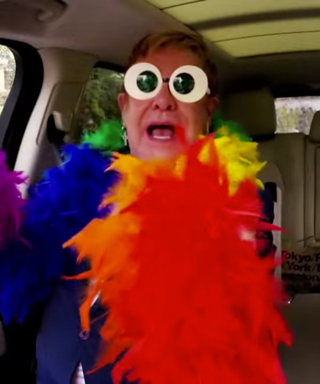 Elton John - James Corden - Carpool Karaoke