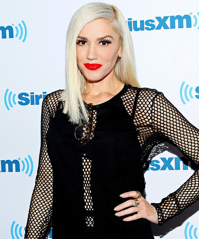 Gwen Stefani visits SiriusXM Studios on December 3, 2015 at SiriusXM Studios on December 3, 2015 in New York City.