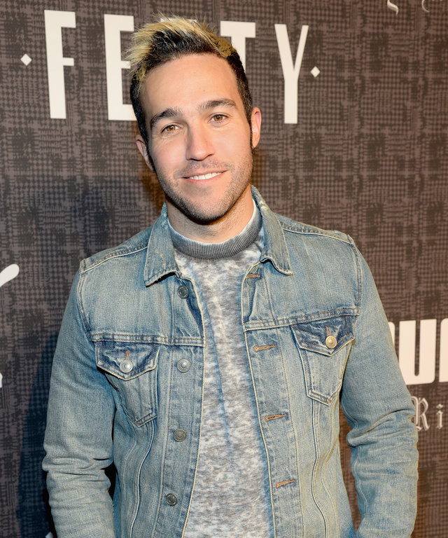 Musician Pete Wentz of Fall Out Boy attends the FENTY PUMA by Rihanna AW16 Collection during Fall 2016 New York Fashion Week at 23 Wall Street on February 12, 2016 in New York City.