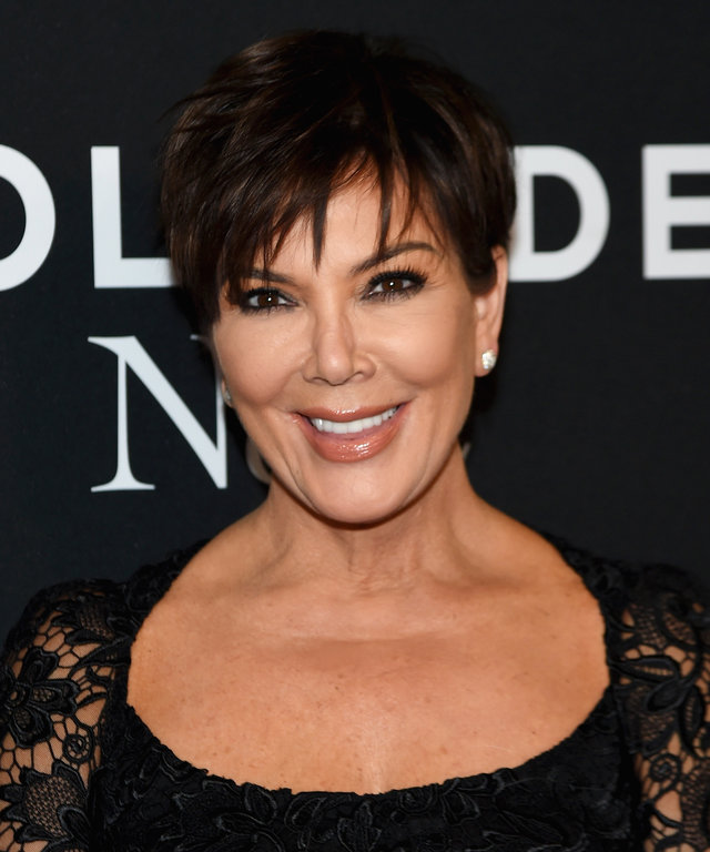 Kris Jenner attends the 'Zoolander 2' World Premiere at Alice Tully Hall on February 9, 2016 in New York City.