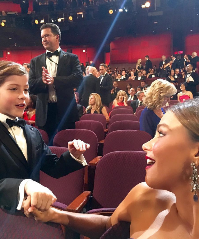 Sofia Vergara - Jacob Tremblay - Instagram