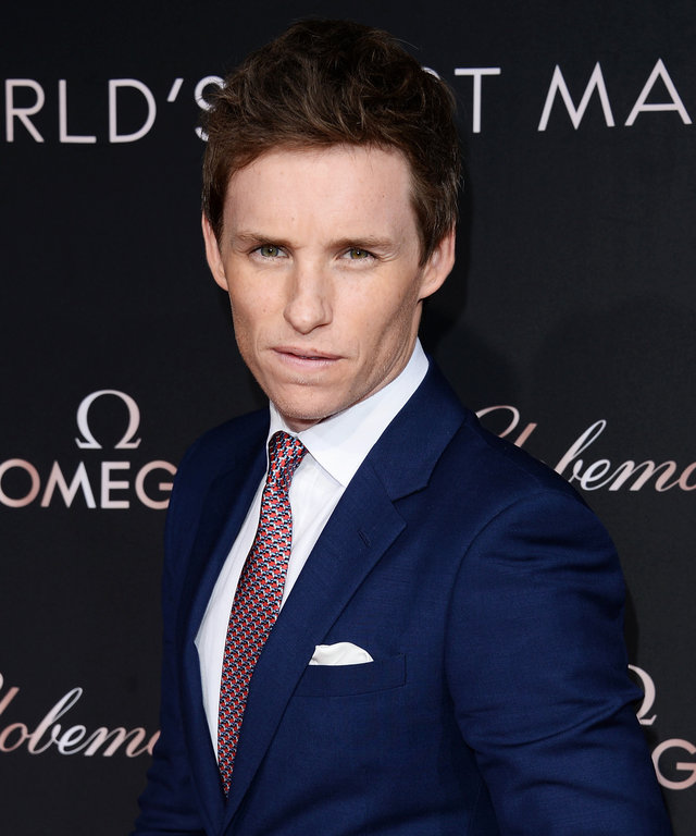 Actor Eddie Redmayne attends the OMEGA celebrates the launch of the Master Chronometer Globemaster at Mack Sennett Studios on March 1, 2016 in Los Angeles, California.