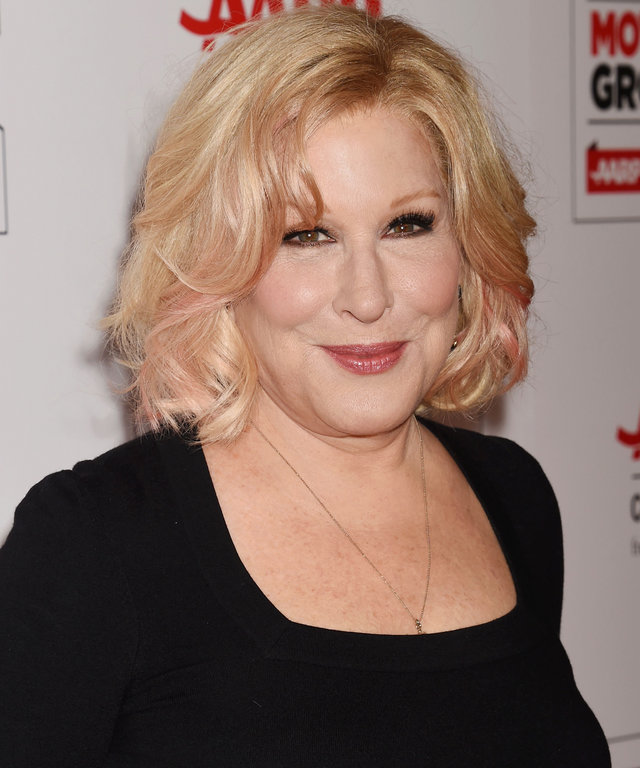 Actress/singer Bette Midler attends AARP's Movie For GrownUps Awards at the Regent Beverly Wilshire Four Seasons Hotel on February 8, 2016 in Beverly Hills, California.