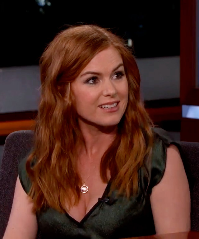 Isla Fisher - Jimmy Kimmel