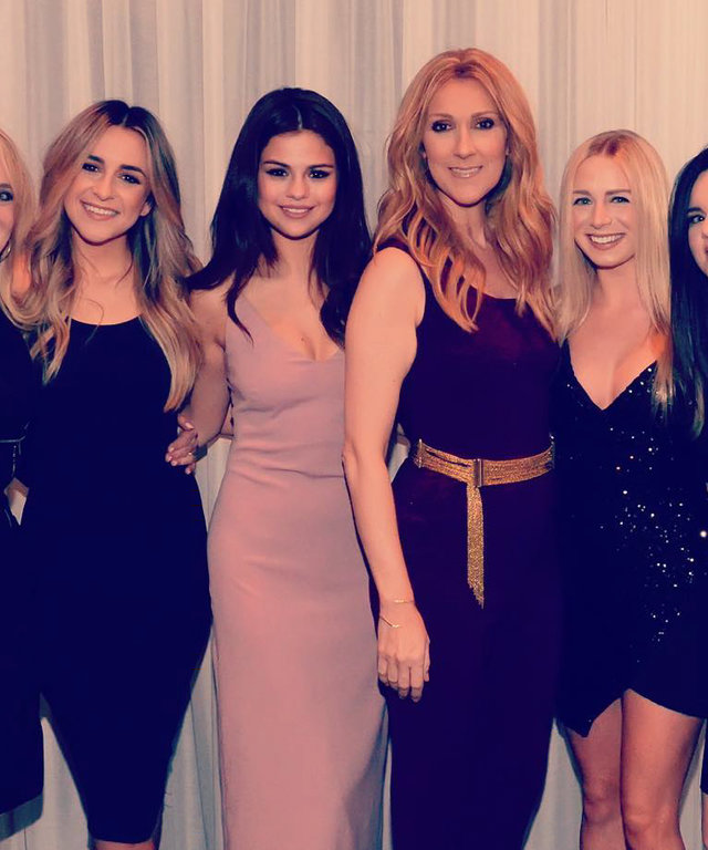 Celine Dion - Selena Gomez and friends