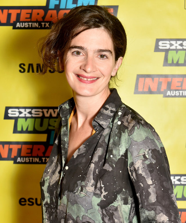 Actress Gaby Hoffmann attends 'A Conversation with Gaby Hoffmann' during the 2016 SXSW Music, Film + Interactive Festival at Vimeo on March 13, 2016 in Austin, Texas.