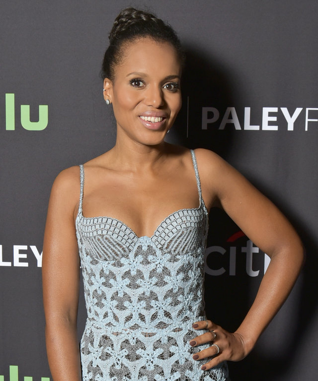 Kerry Washington at PaleyFest LA 2016 honoring Scandal, presented by The Paley Center for Media, at the Dolby Theatre on March 15, 2016 in Hollywood, California.