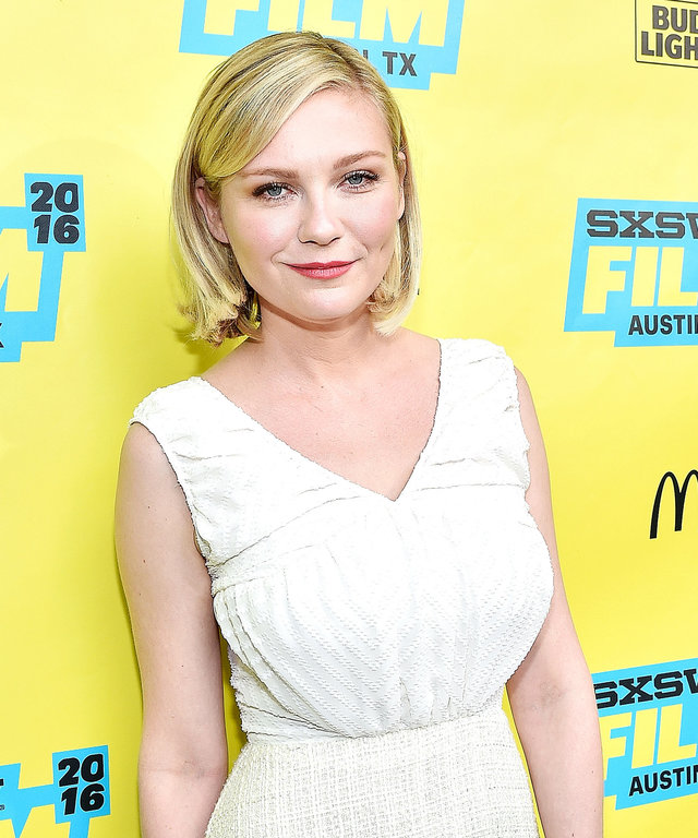 Actress Kirsten Dunst attends the screening of 'Midnight Special' during the 2016 SXSW Music, Film + Interactive Festival at Paramount Theatre on March 12, 2016 in Austin, Texas.