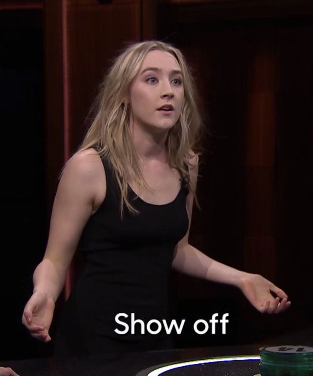 Catchphrase with Don Cheadle and Saoirse Ronan - Jimmy Fallon