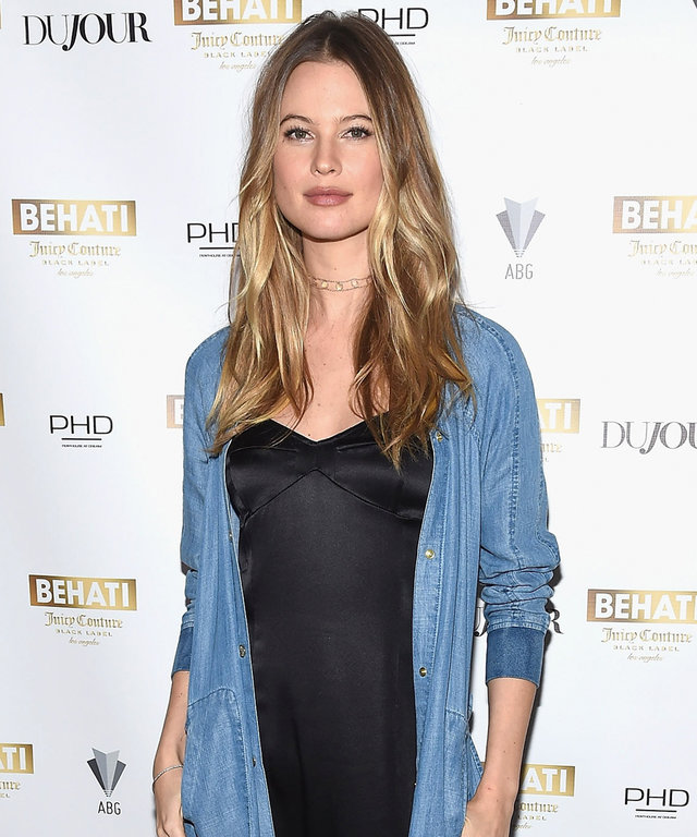 Model and designer Behati Prinsloo attends Behati Juicy Couture Black Label Launch at PH-D Rooftop Lounge at Dream Downtown on March 23, 2016 in New York City.