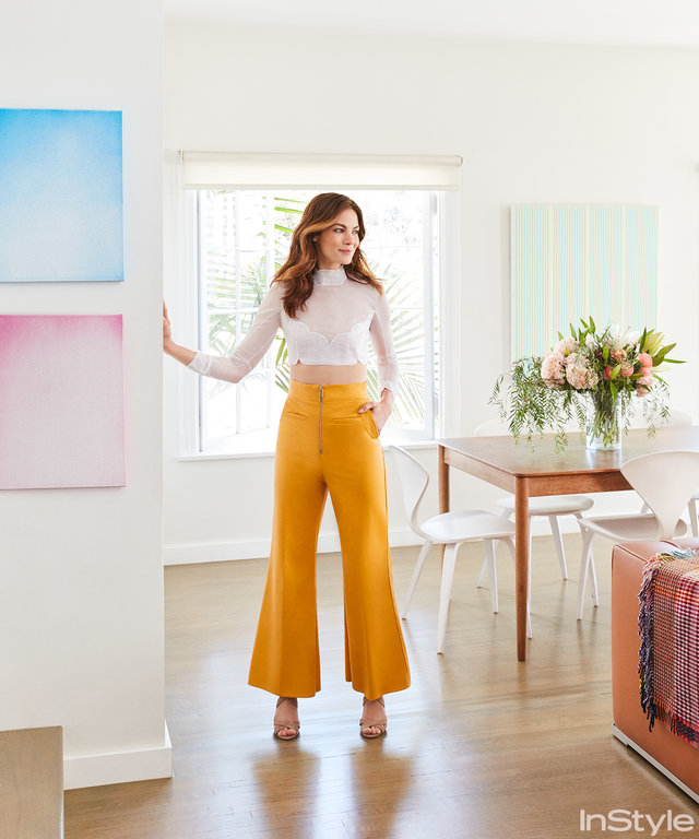 Go Inside Michelle Monaghan's Colorful L.A. Home