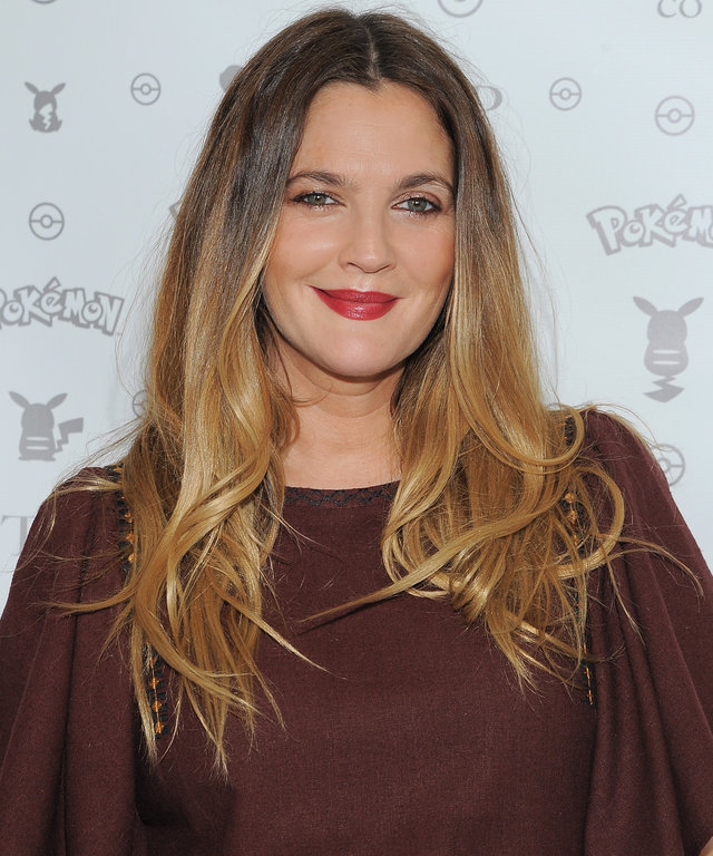 Actress Drew Barrymore attends Tracy Paul & Co presents Pokemon Afternoon Soiree at Sunset Tower on February 27, 2016 in West Hollywood, California.