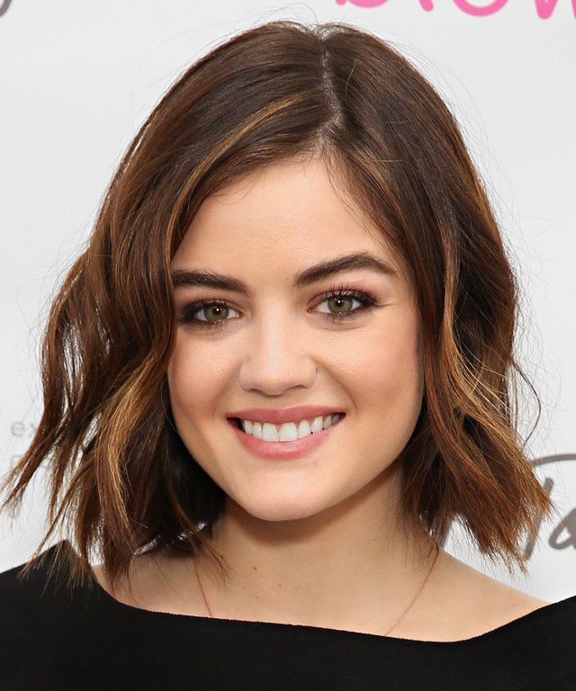Actress Lucy Hale hosts the Blowpro launch at Lord & Taylor.