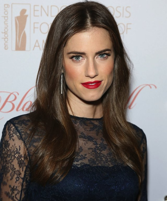 Allison Williams attends the 8th Annual Blossom Ball benefiting the Endometriosis Foundation of America.