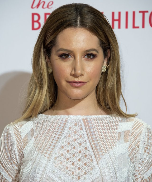 Actress Ashley Tisdale attends 23rd Annual Race To Erase MS Gala.
