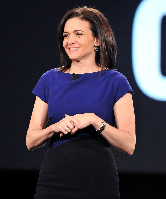 Sheryl Sandberg attends AOL MAKERS Conference at Terranea Resort on February 2, 2016 in Rancho Palos Verdes, California.