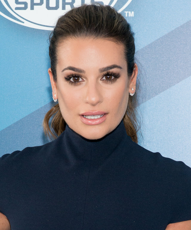 Actress Lea Michele attends the 2016 Fox Upfront at Wollman Rink, Central Park on May 16, 2016 in New York City.