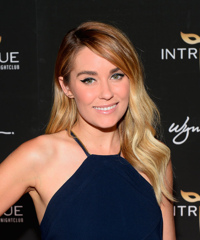 Television personality and fashion designer Lauren Conrad arrives at the grand opening of Intrigue Nightclub at Wynn Las Vegas on April 29, 2016 in Las Vegas, Nevada.