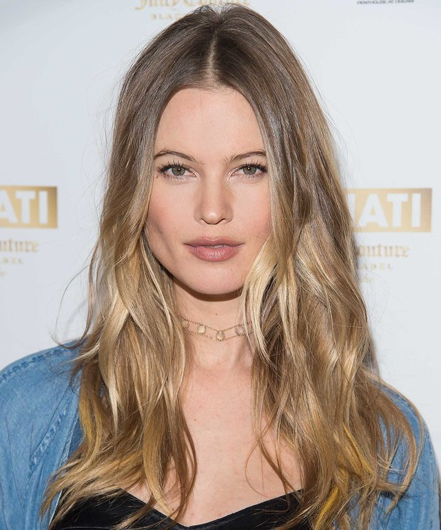 Model Behati Prinsloo attends supermodel Behati Prinsloo celebrates the launch of Behati Juicy Couture Black Label at Dream Downtown on March 23, 2016 in New York City.