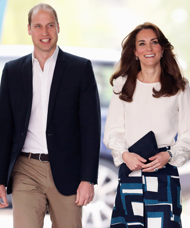 Prince William, Duke of Cambridge and Catherine, Duchess of Cambridge attend the launch of the Heads Together campaign to eliminate stigma on mental health at the Queen Elizabeth Olympic Park on May 16, 2016 in London, England. (Photo by Max Mumby/Indigo/