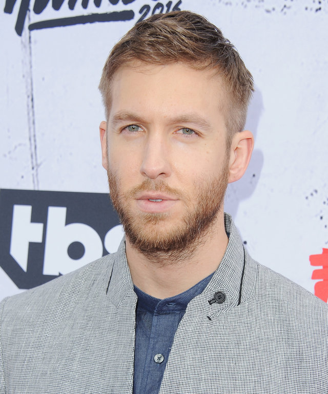 DJ Calvin Harris arrives at iHeartRadio Music Awards on April 3, 2016 in Inglewood, California.
