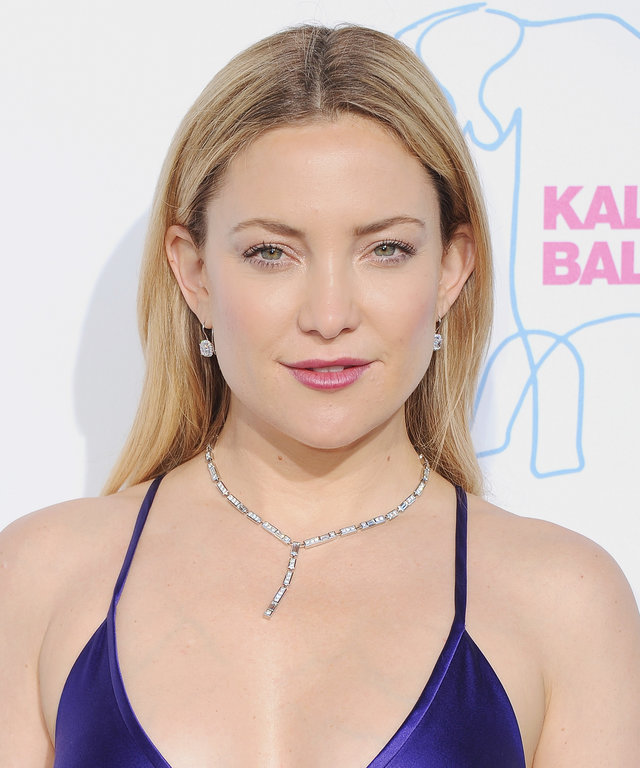 Actress Kate Hudson arrives at the Kaleidoscope Ball at 3LABS on May 21, 2016 in Culver City, California.
