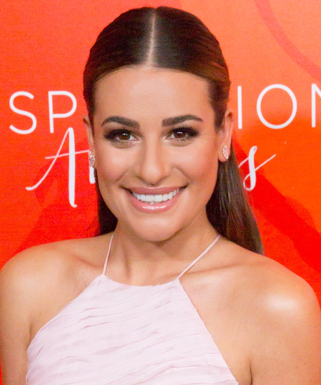 Lea Michele attends Step Up's 13th Annual Inspiration Awards at The Beverly Hilton Hotel on May 20, 2016 in Beverly Hills, California.