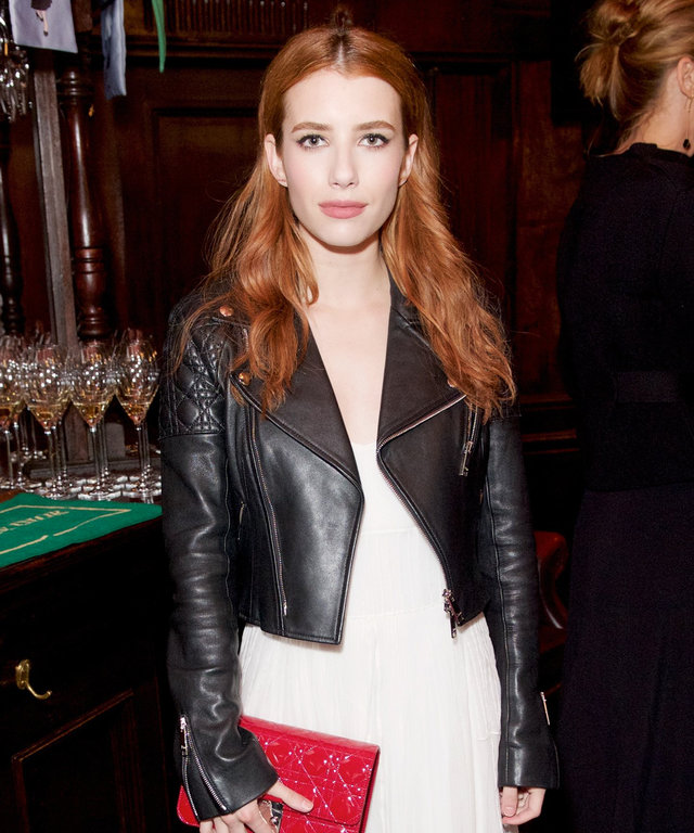The Lady Dior Party hosted by DIOR, London, Britain - 30 May 2016 Emma Roberts