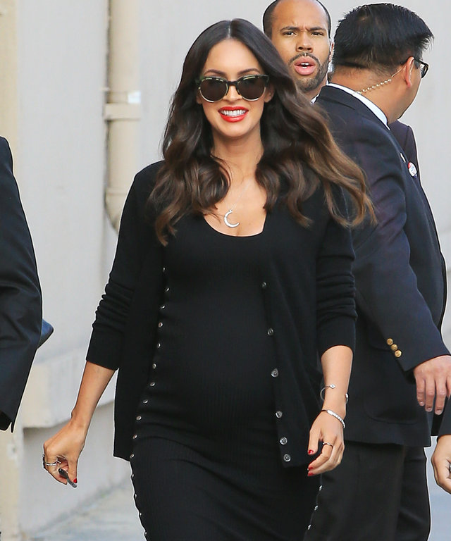 Megan Fox is seen at 'Jimmy Kimmel Live' on May 31, 2016 in Los Angeles, California.