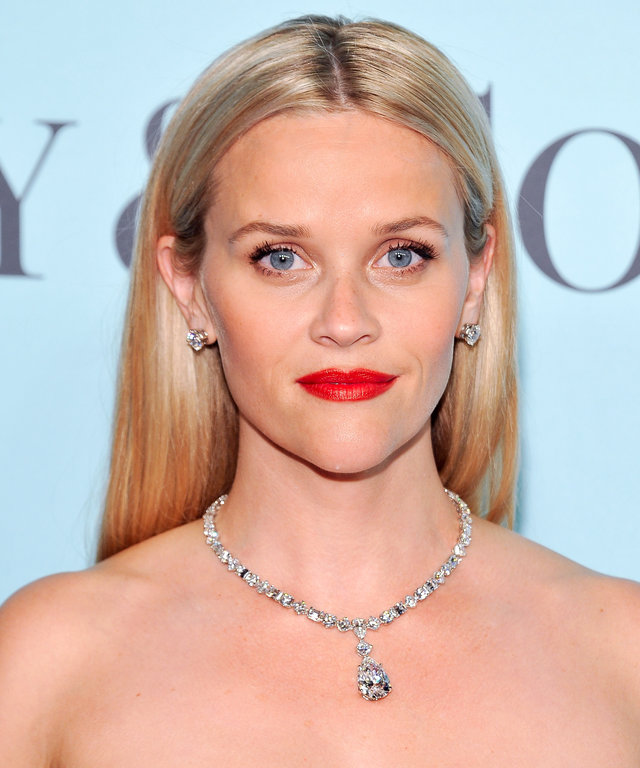 Reese Witherspoon attends the Tiffany & Co. Blue Book Gala at The Cunard Building on April 15, 2016 in New York City.