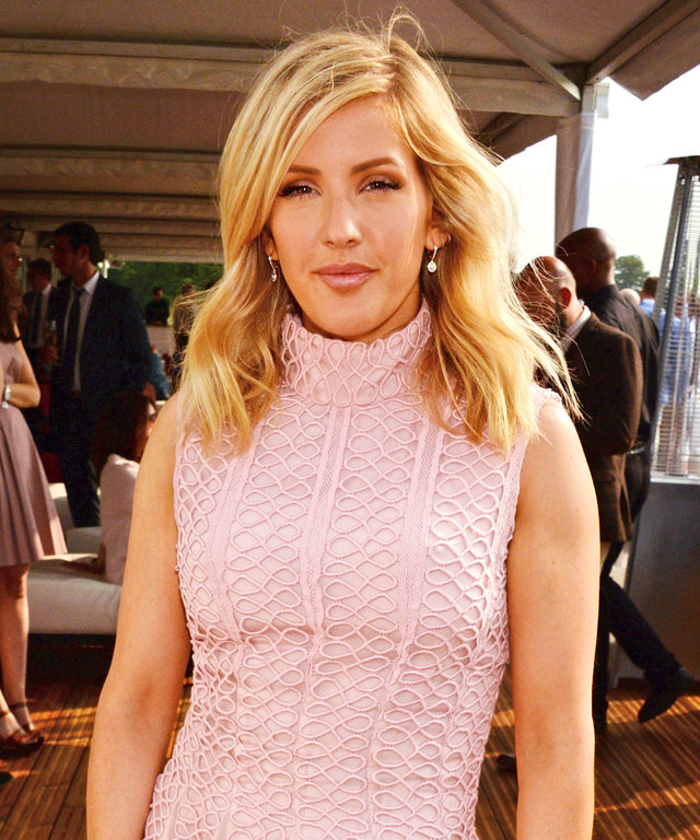 Ellie Goulding attends day one of the Audi Polo Challenge at Coworth Park on May 28, 2016 in London, England.
