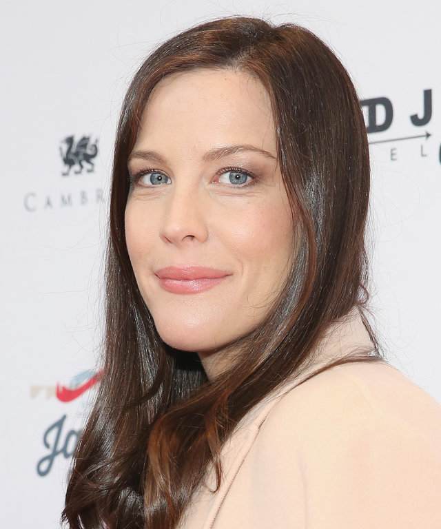 NEW YORK, NY - MAY 02:  Actress Liv Tyler attends  Steven Tyler...Out on a Limb  show to benefit Janie's Fund in collaboration with Youth Villages at David Geffen Hall on May 2, 2016 in New York City.  (Photo by Mireya Acierto/FilmMagic)