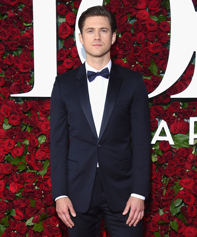 NEW YORK, NY - JUNE 12:  Aaron Tveit attends the 70th Annual Tony Awards at The Beacon Theatre on June 12, 2016 in New York City.  (Photo by Dimitrios Kambouris/Getty Images for Tony Awards Productions)