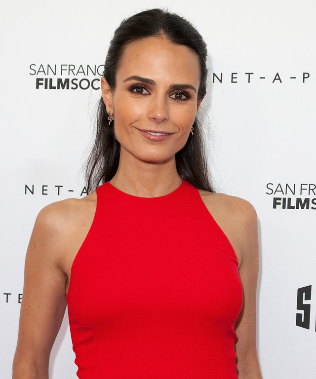 Actor and model Jordana Brewster arrives on the red carpet during the San Francisco Film Society Awards Night at Fort Mason Center on April 25, 2016 in San Francisco, California.