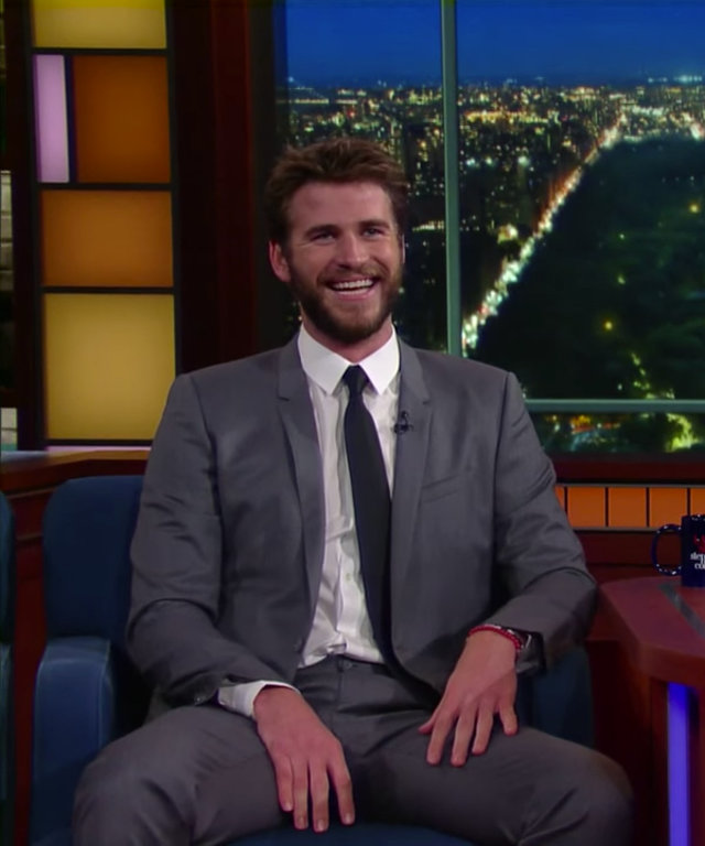 Liam Hemsworth - Stephen Colbert