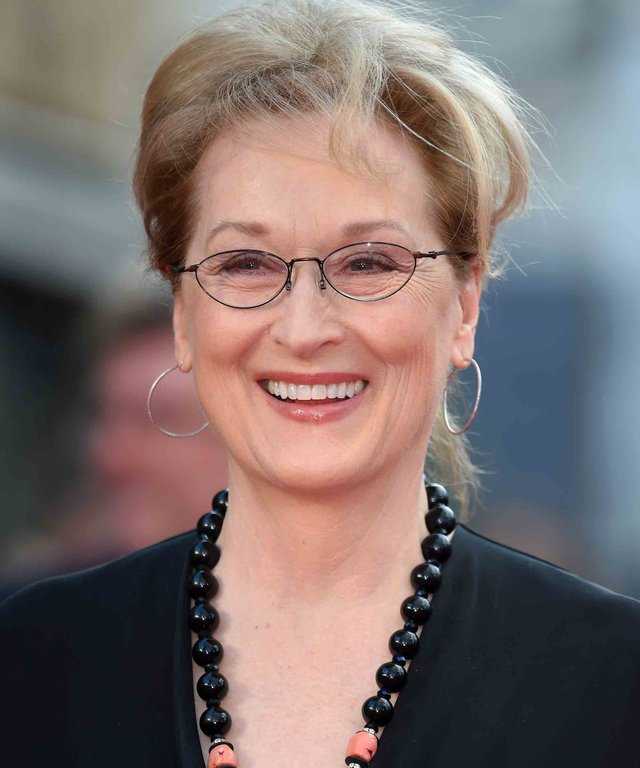 """LONDON, ENGLAND - APRIL 12:  Meryl Streep arrives for the UK film premiere of """"Florence Foster Jenkins"""" at Odeon Leicester Square on April 12, 2016 in London, England.  (Photo by Karwai Tang/WireImage)"""