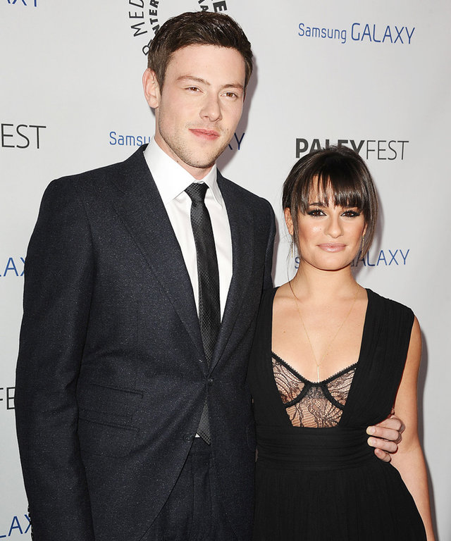 BEVERLY HILLS, CA - FEBRUARY 27:  Actor Cory Monteith and actress Lea Michele attend the PaleyFest Icon Award presentation at The Paley Center for Media on February 27, 2013 in Beverly Hills, California.  (Photo by Jason LaVeris/FilmMagic)