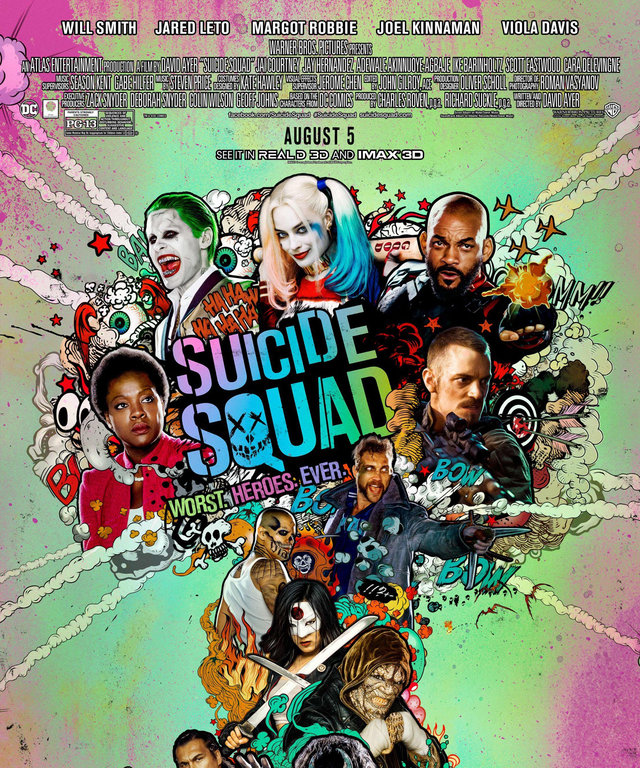 Movies to Watch in August - Suicide Squad - LEAD