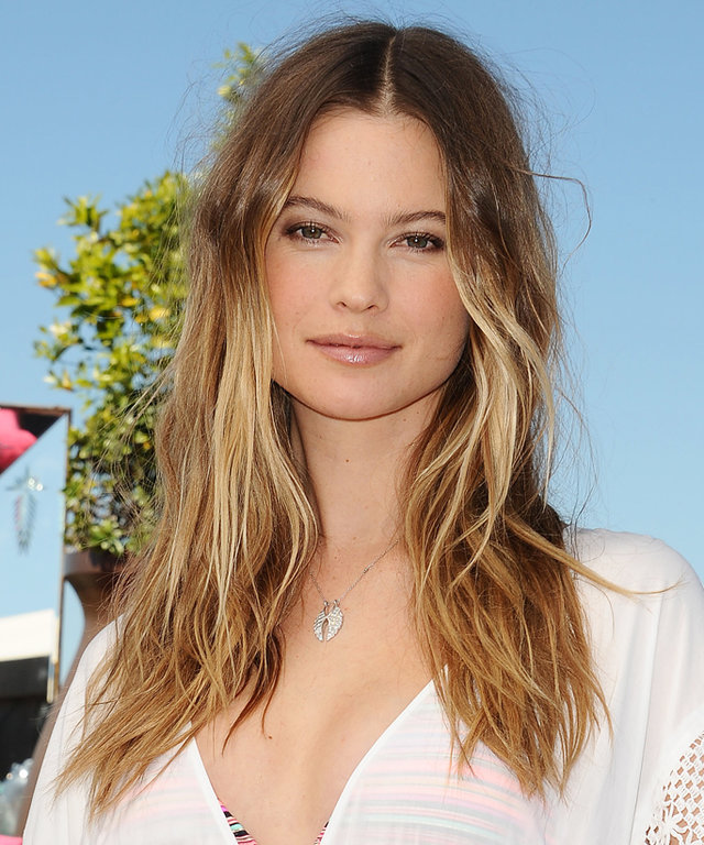 BEVERLY HILLS, CA - MARCH 08:  Behati Prinsloo attends the Victoria's Secret swim launch at SLS Hotel on March 8, 2016 in Beverly Hills, California.  (Photo by Jason LaVeris/FilmMagic)