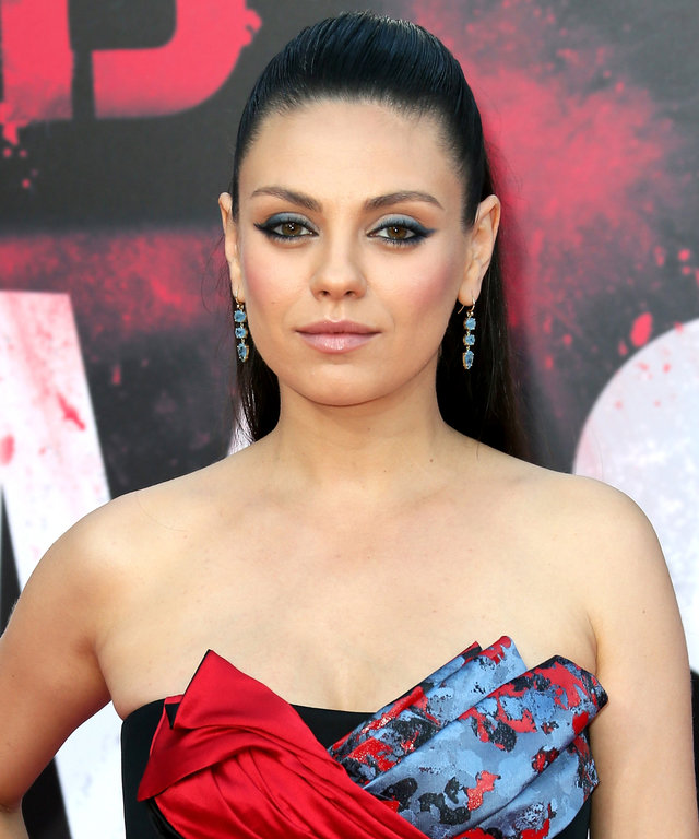 "WESTWOOD, CA - JULY 26:  Actress Mila Kunis attends the premiere of STX Entertainment's ""Bad Moms"" at Mann Village Theatre on July 26, 2016 in Westwood, California.  (Photo by David Livingston/Getty Images)"