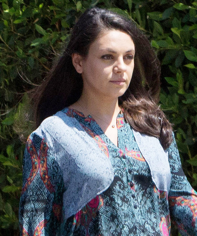Mila Kunis is spotted out running errands in Los Angeles, California