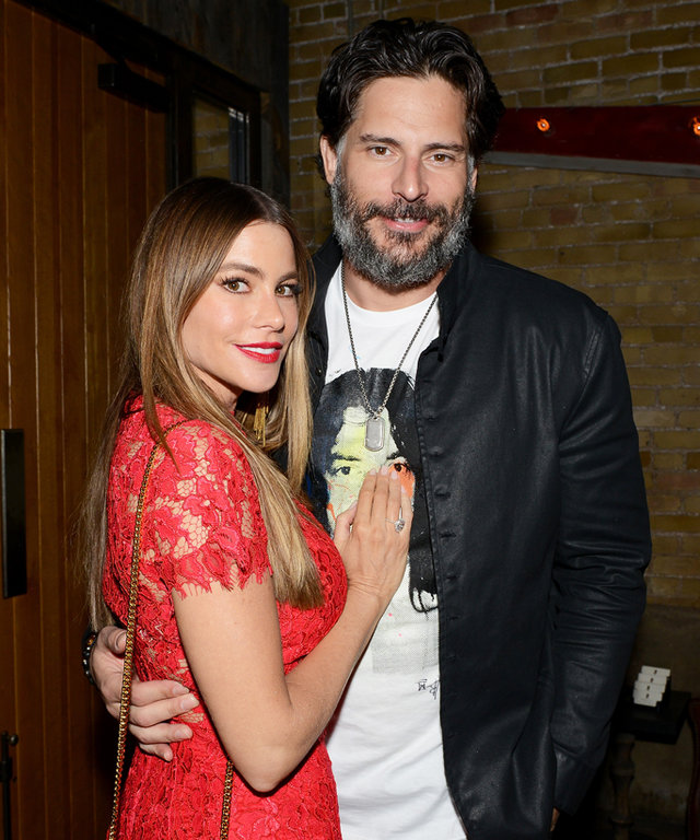 AUSTIN, TX - MARCH 17:  (L-R) Sofia Vergara and Joe Manganiello attend Netflix presents the world premiere of  Pee-wee's Big Holiday  at SXSW March 17, 2016 in Austin, Texas.  (Photo by Alli Harvey/Getty Images for Netflix)